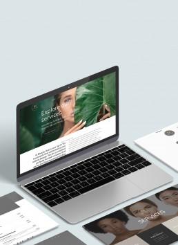 M beauty Hub Website